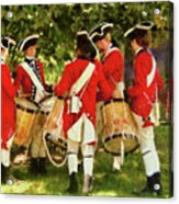 Americana - People - Preparing For Battle Acrylic Print by Mike Savad