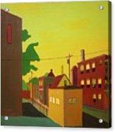 Amory Street Jamaica Plain Acrylic Print by Debra Robinson