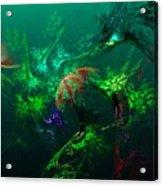 An Octopus's Garden Acrylic Print by David Lane