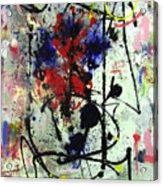 Analysis Acrylic Print by David Abse
