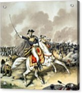 Andrew Jackson At The Battle Of New Orleans Acrylic Print by War Is Hell Store
