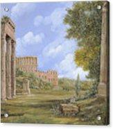 Anfiteatro Romano Acrylic Print by Guido Borelli