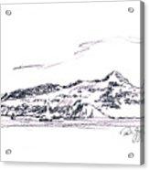Angel Island From Sausalito Acrylic Print by Paul Gaj
