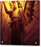 Angel Of Bless No. 03 Acrylic Print by Ramon Labusch