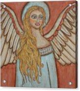 Angel Of Liberation Acrylic Print by Rain Ririn