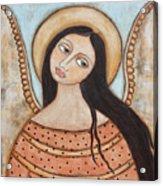 Angel Of Silence Acrylic Print by Rain Ririn