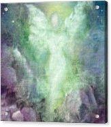 Angels Journey Acrylic Print by Marina Petro