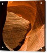 Antelope Canyon No 3 Acrylic Print by Adam Romanowicz