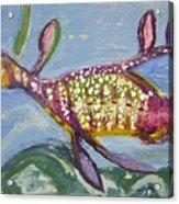 Anthropomorphic Sea Dragon 2 Acrylic Print by Michelley QueenofQueens