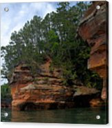 Apostle Islands National Lakeshore Acrylic Print by Larry Ricker