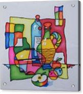 Apple Wine Acrylic Print by Tatiana  Antsiferova