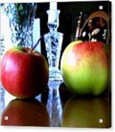 Apples Still Life Acrylic Print by Will Borden