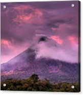 Arenal Volcano Acrylic Print by Dolly Sanchez