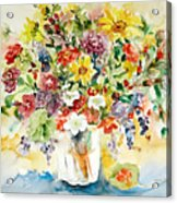 Arrangement IIi Acrylic Print by Ingrid Dohm