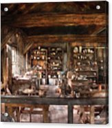 Artist - Potter - The Potters Shop  Acrylic Print by Mike Savad