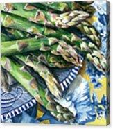 Asparagus Acrylic Print by Nadi Spencer