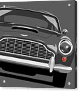 Aston Martin Db5 Acrylic Print by Michael Tompsett