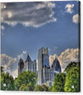 Atlanta Piedmont Park View Acrylic Print by Corky Willis Atlanta Photography
