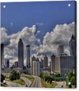 Atlanta Skyline Acrylic Print by Corky Willis Atlanta Photography