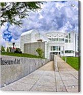 Atlanta's High Museum Acrylic Print by Mark E Tisdale