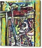 Attic Window Acrylic Print by Robert Wolverton Jr