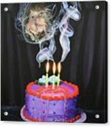 August 9 2008 Acrylic Print by Richard Barone