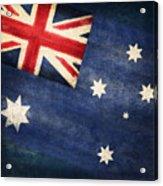 Australia  Flag Acrylic Print by Setsiri Silapasuwanchai