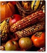 Autumn Harvest  Acrylic Print by Garry Gay