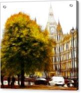 Autumn In London Acrylic Print by Stefan Kuhn