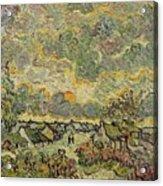 Autumn Landscape Acrylic Print by Vincent Van Gogh