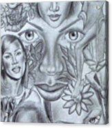 Avanessafacad Acrylic Print by Rick Hill