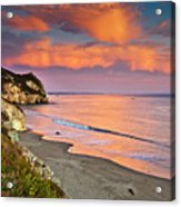 Avila Beach At Sunset Acrylic Print by Mimi Ditchie Photography