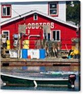 Bailey Island Lobster Pound Acrylic Print by Susan Cole Kelly