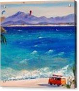 Baja Safari Acrylic Print by Lynee Sapere