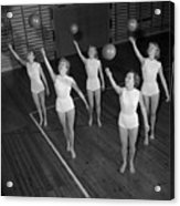 Ball Ballet Acrylic Print by Firth