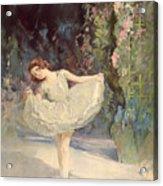 Ballet Acrylic Print by Septimus Edwin Scott