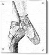 Ballet Shoes Acrylic Print by Al Intindola