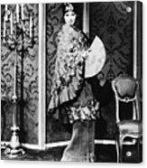 Barbra Streisand (1942- ) Acrylic Print by Granger