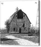 Barn 10 Acrylic Print by Joel Lueck