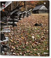 Barn At Jim Bales Place Acrylic Print by Andrew Soundarajan