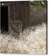Barn Door Acrylic Print by Idaho Scenic Images Linda Lantzy