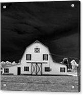 Barn Storm Acrylic Print by Julian Bralley