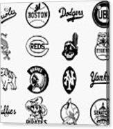 Baseball Logos Acrylic Print by Granger