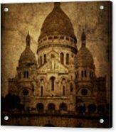 Basilica Acrylic Print by Andrew Paranavitana