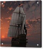 Bateau De Pirate Acrylic Print by Steven Palmer
