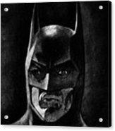 Batman Acrylic Print by Salman Ravish