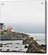 Battery Point Lighthouse California Acrylic Print by Christine Till