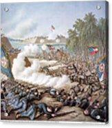 Battle Of Corinth, 1862 Acrylic Print by Granger