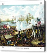 Battle Of New Orleans Acrylic Print by War Is Hell Store