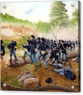 Battle Of Utoy Creek Acrylic Print by Marc Stewart